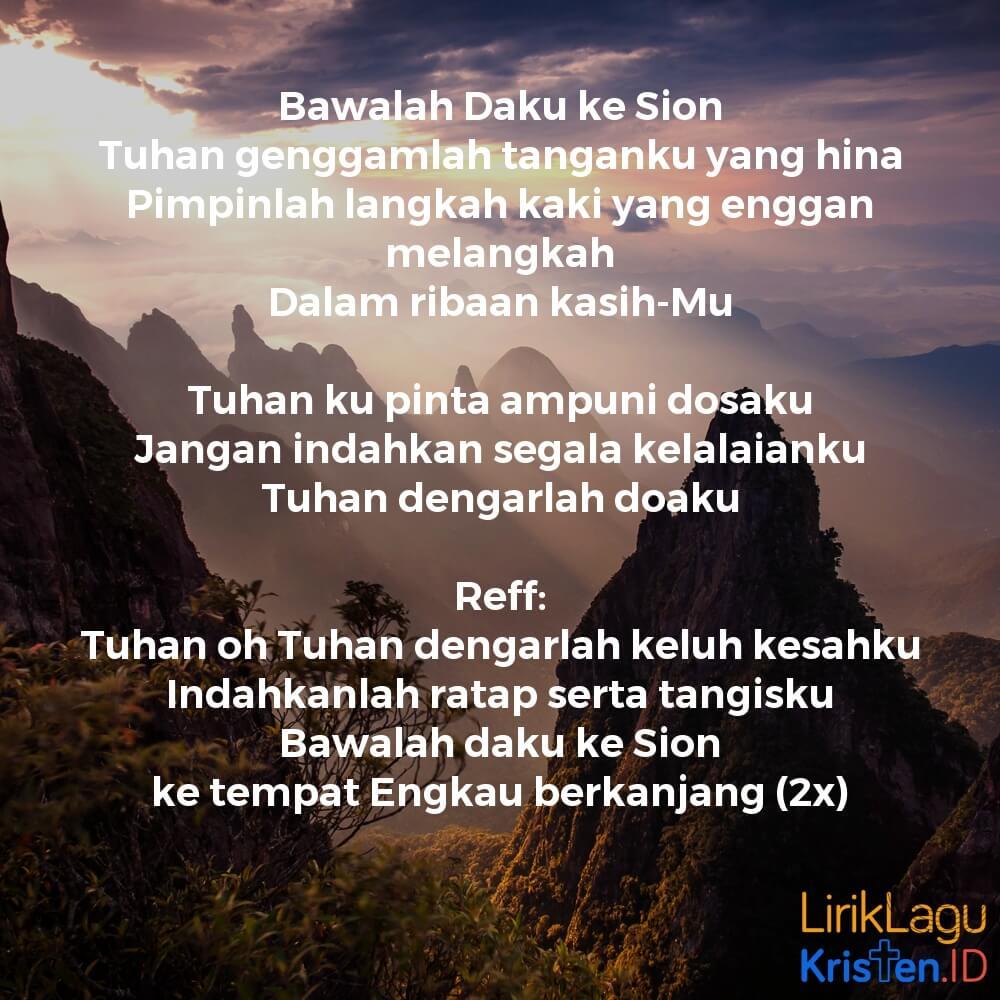 Bawalah Daku Ke Sion