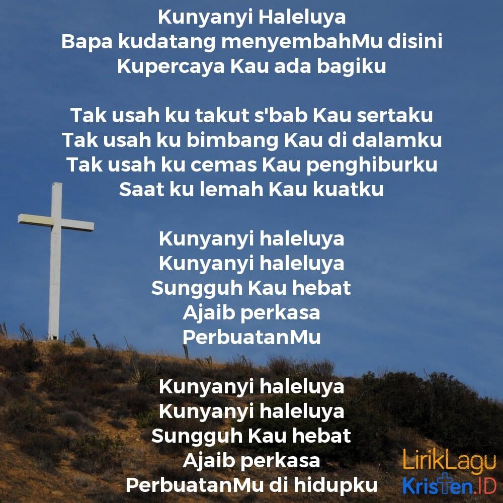 Kunyanyi Haleluya