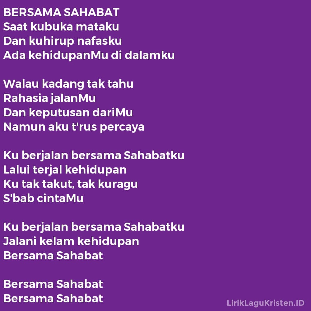 BERSAMA SAHABAT
