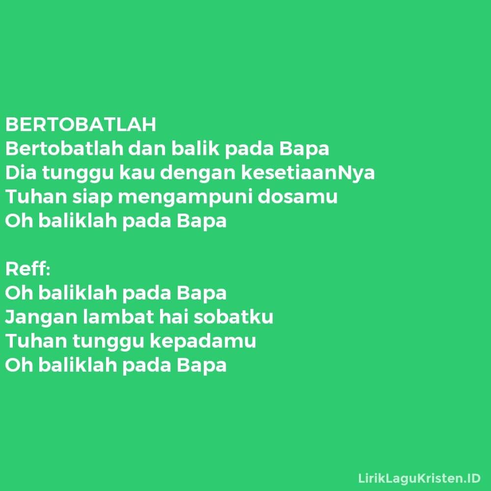 BERTOBATLAH