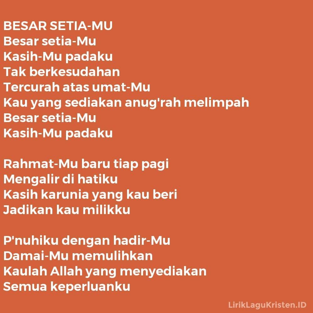 BESAR SETIA-MU