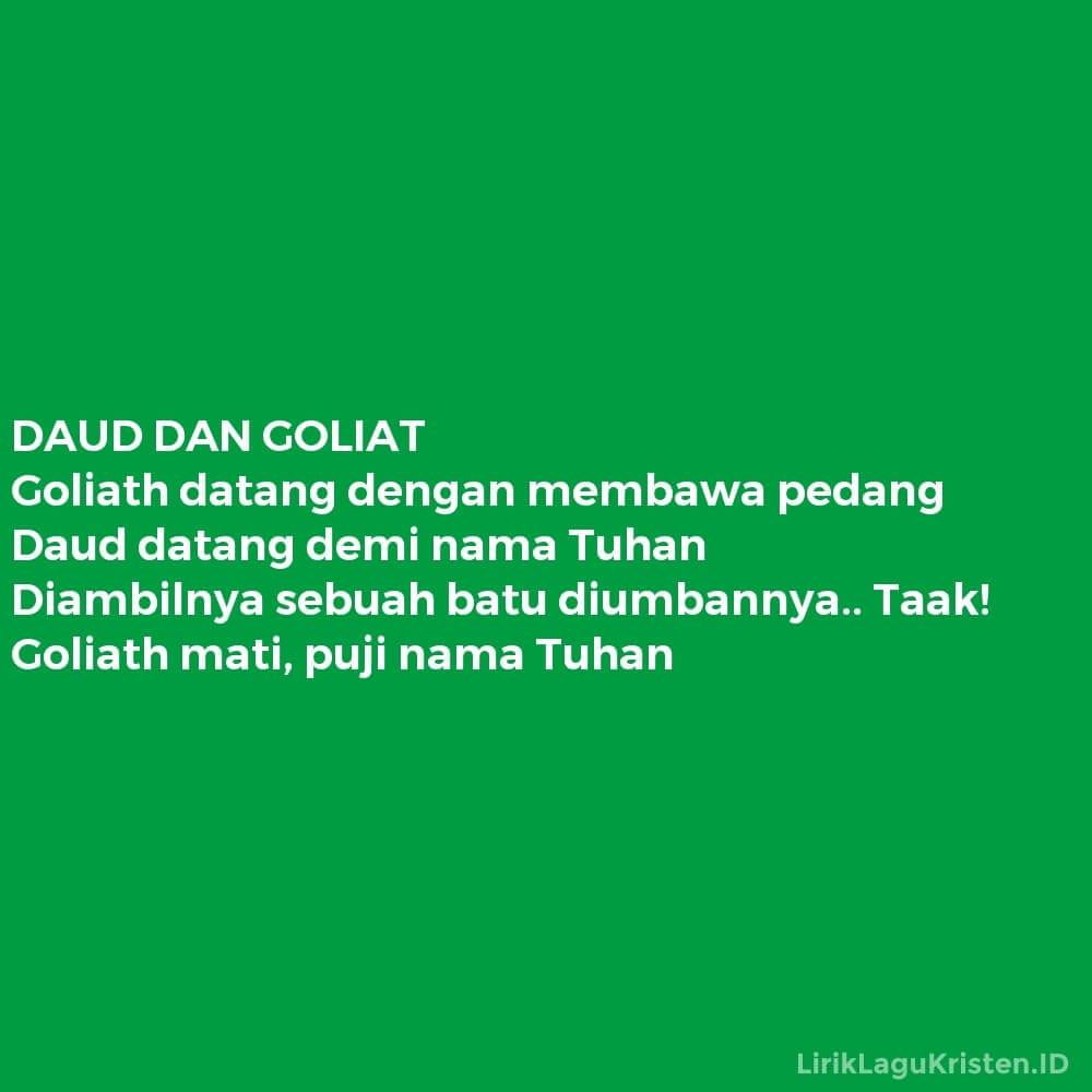 DAUD DAN GOLIAT