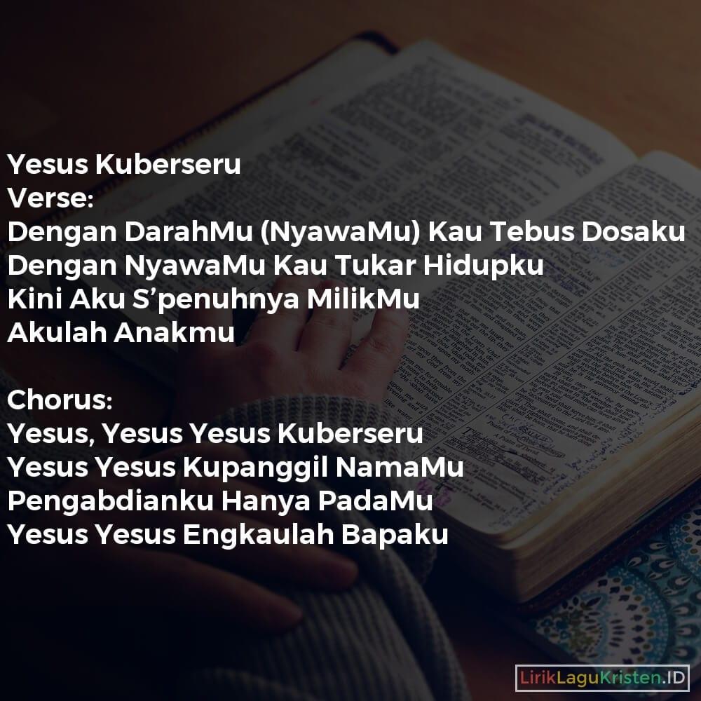Yesus Kuberseru