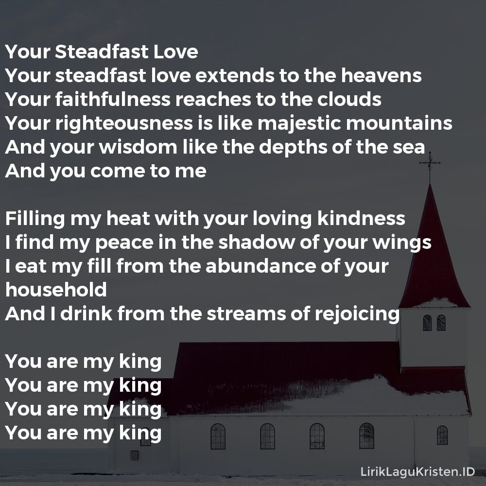 Your Steadfast Love