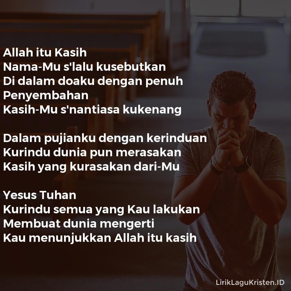Allah itu Kasih