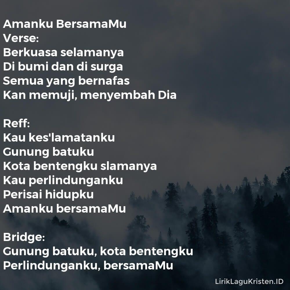 Amanku BersamaMu