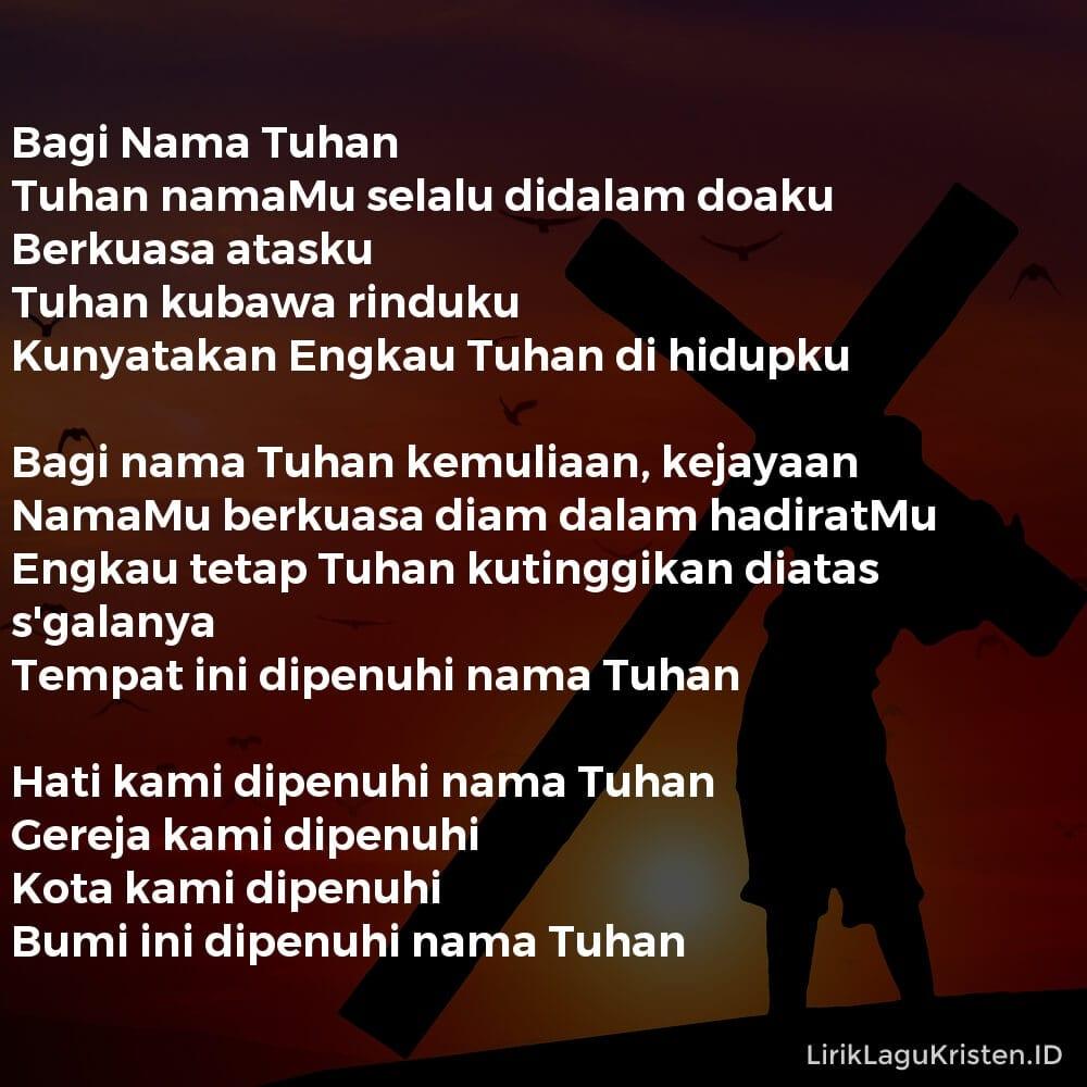 Bagi Nama Tuhan