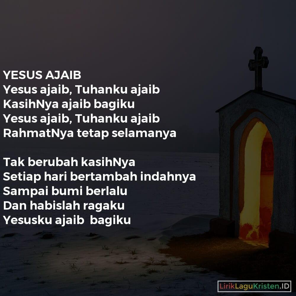 YESUS AJAIB