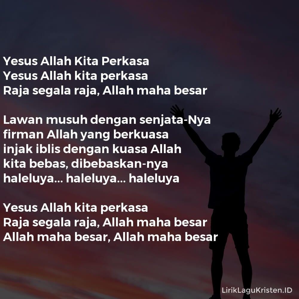 Yesus Allah Kita Perkasa