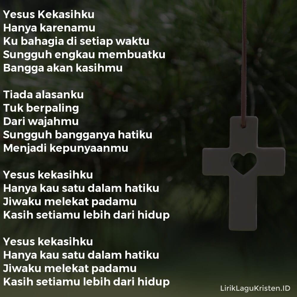 Yesus Kekasihku