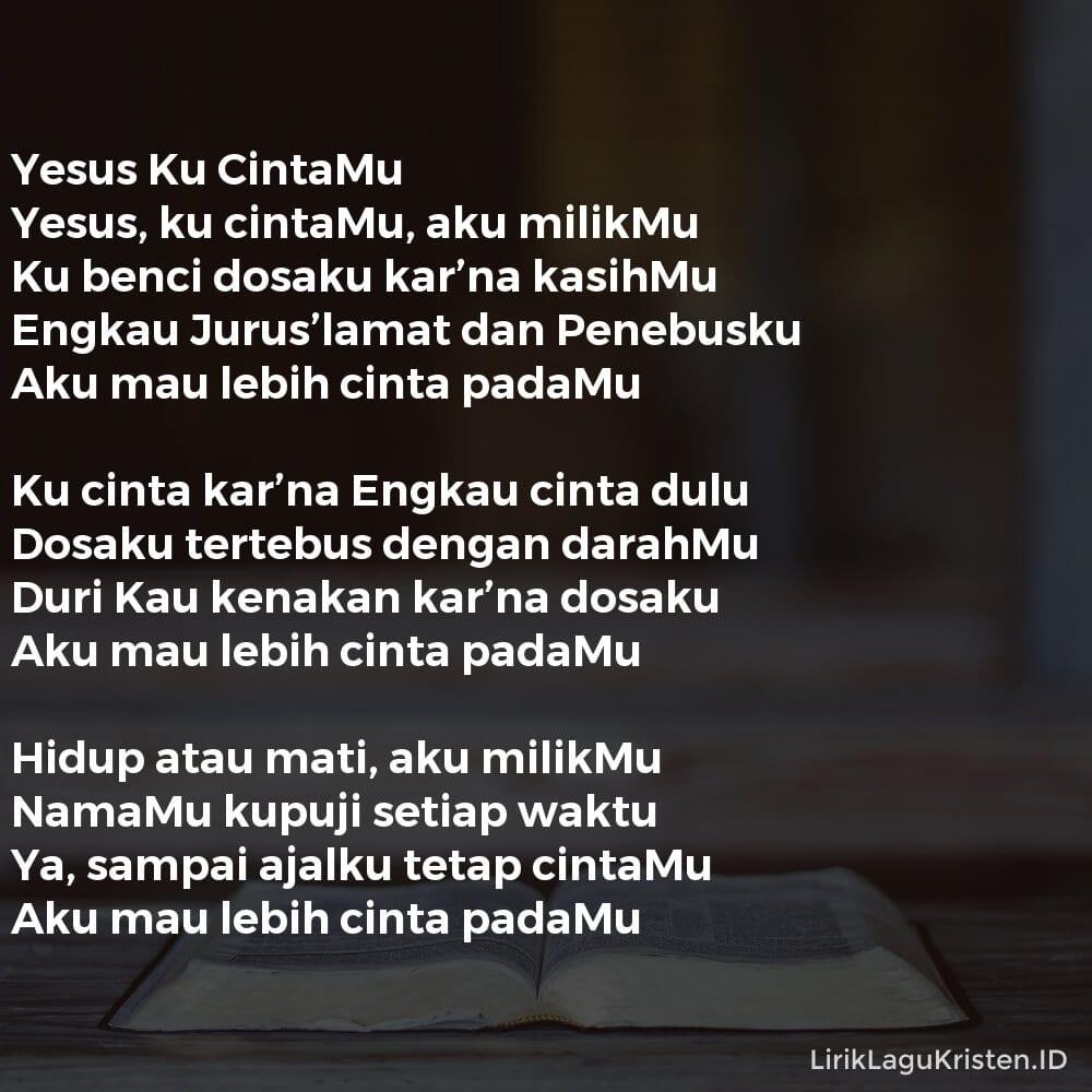Yesus Ku CintaMu