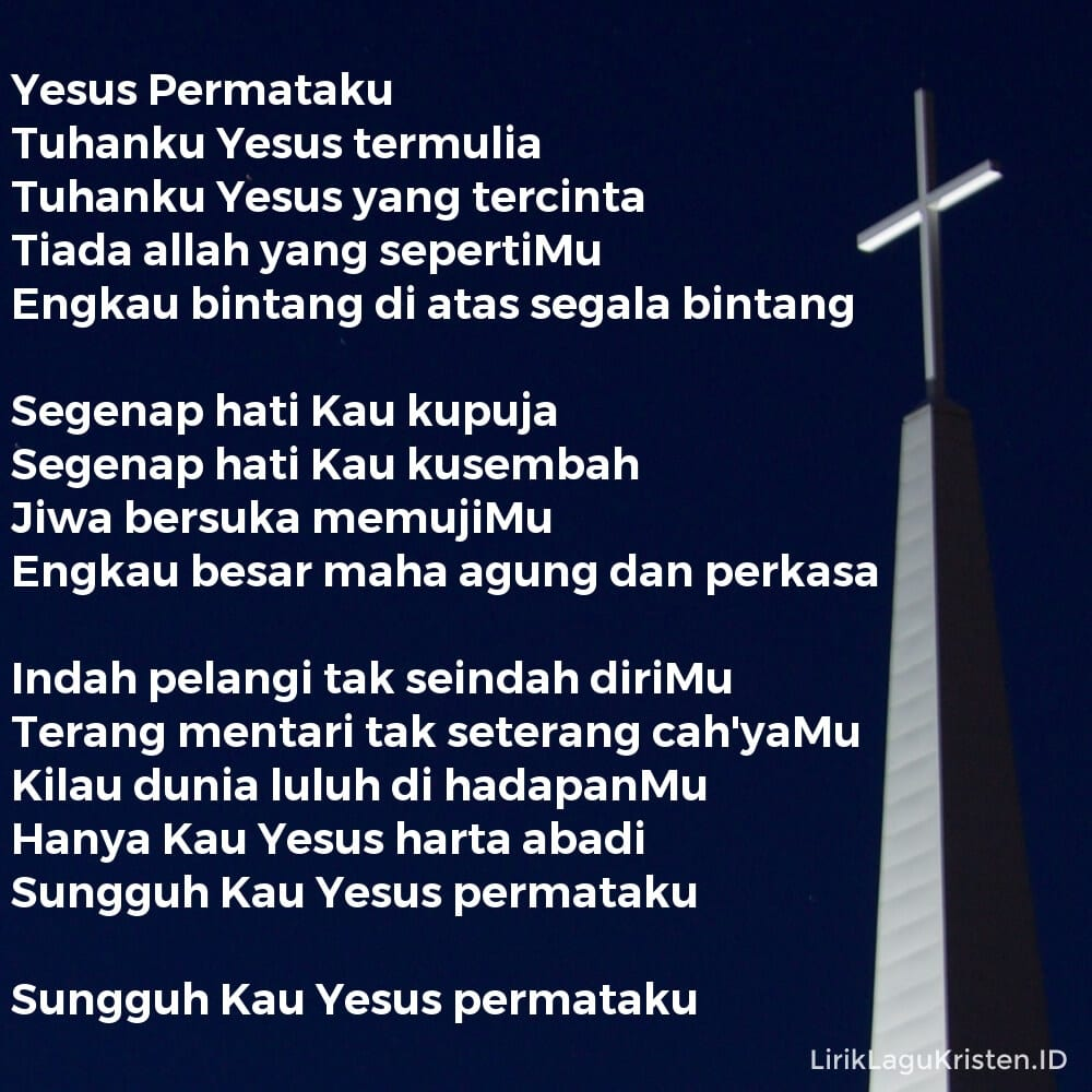 Yesus Permataku