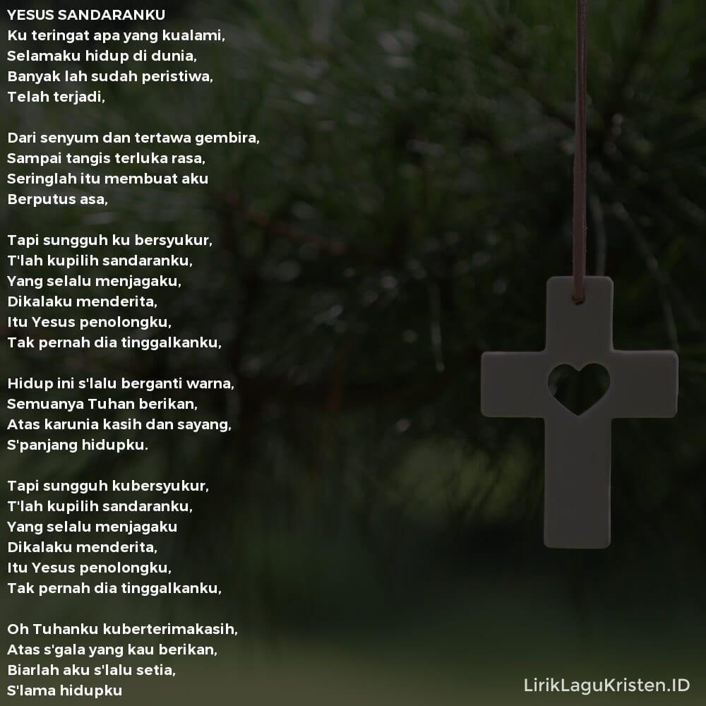 YESUS SANDARANKU