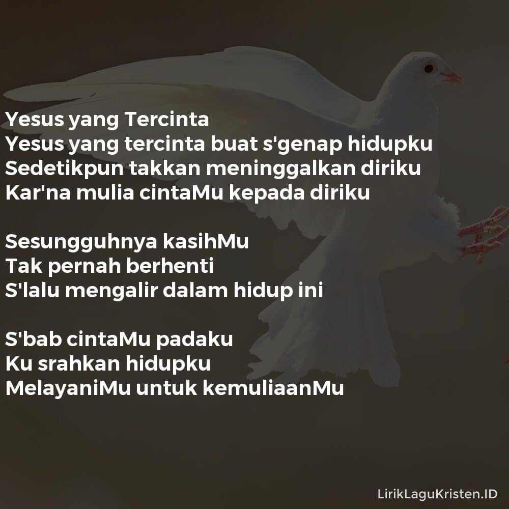 Yesus yang Tercinta