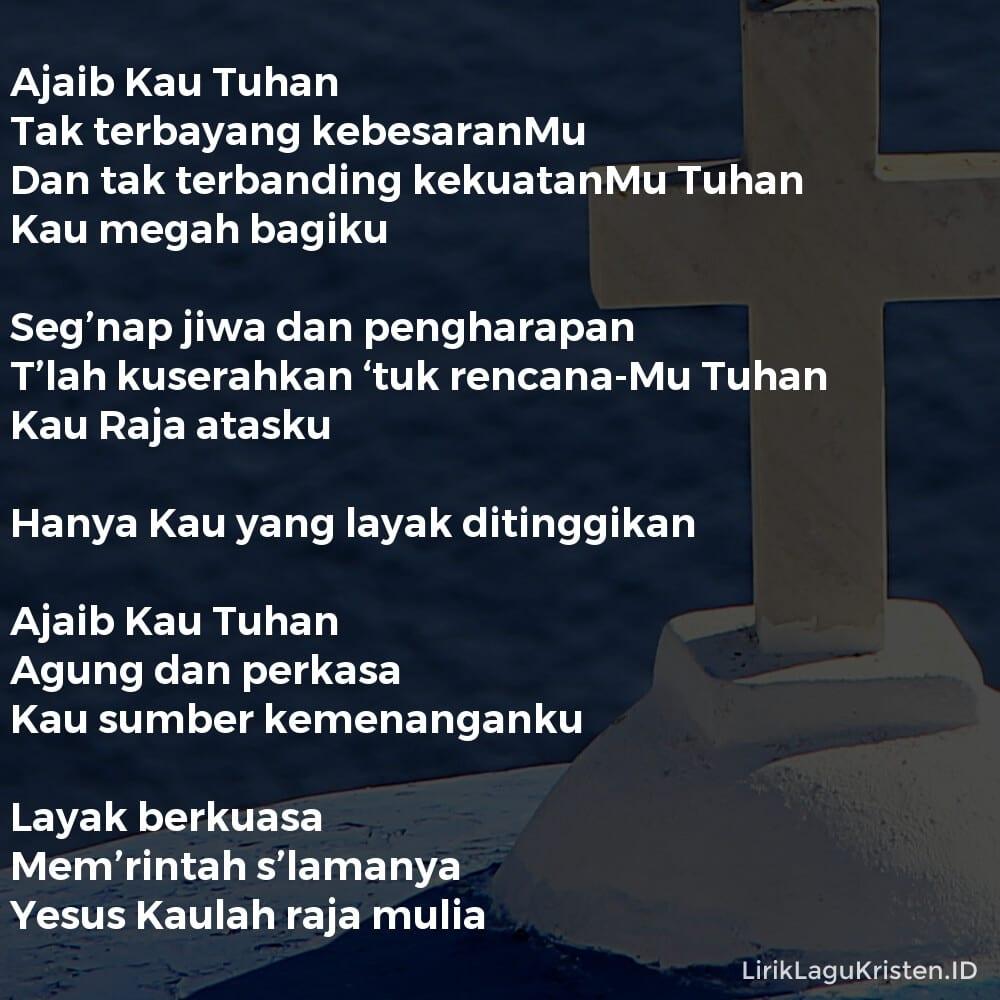 Ajaib Kau Tuhan
