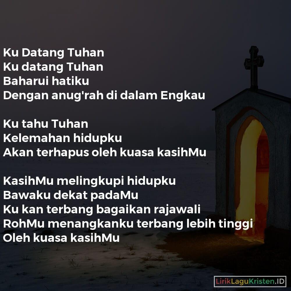 Ku Datang Tuhan