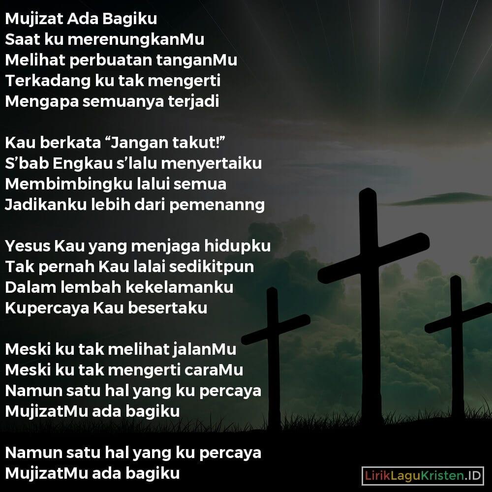 Mujizat Ada Bagiku