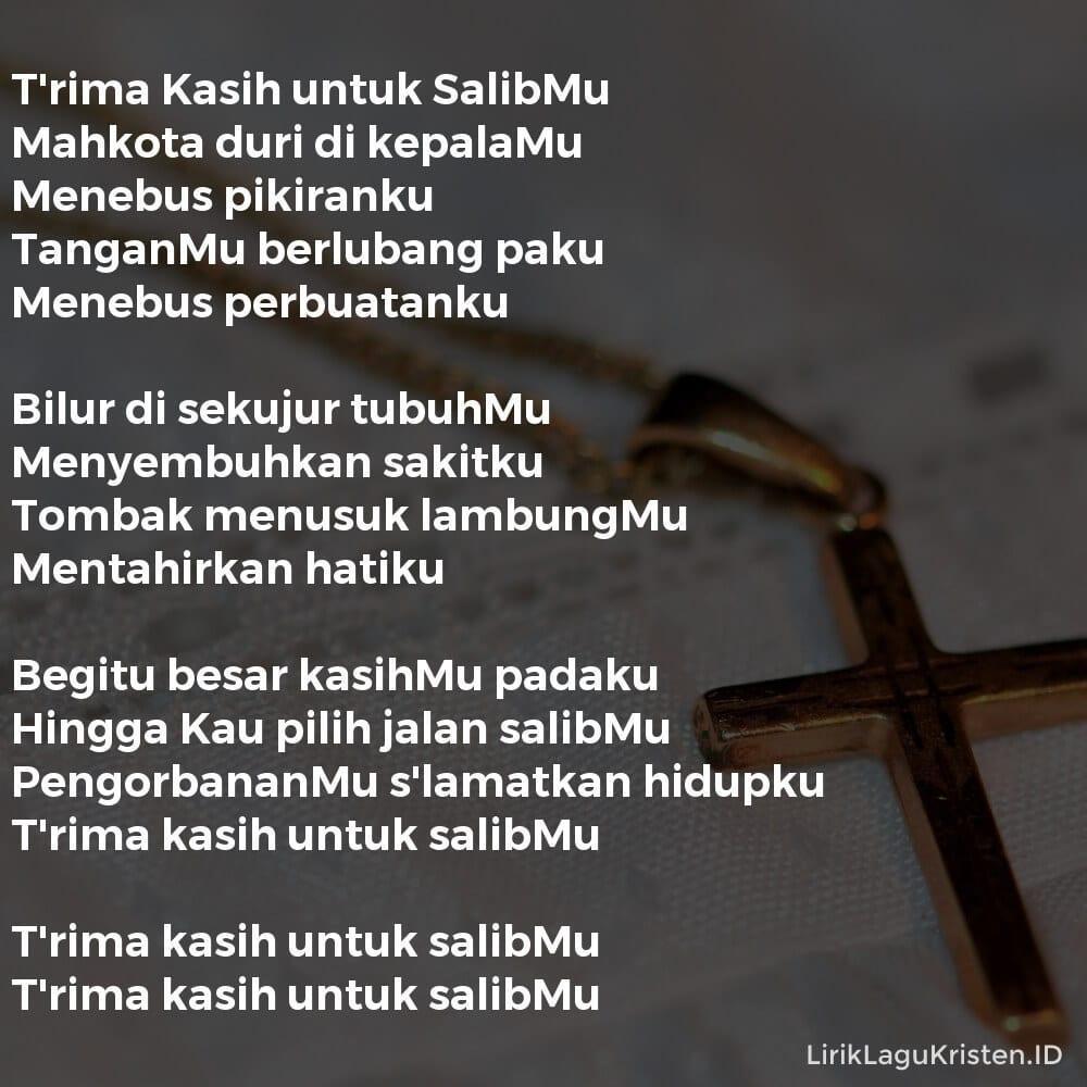 T'rima Kasih untuk SalibMu