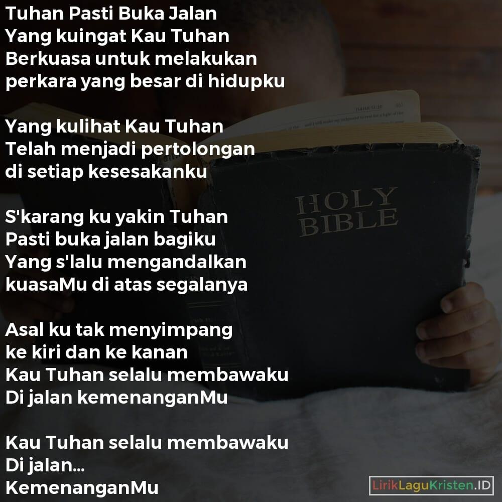 Tuhan Pasti Buka Jalan