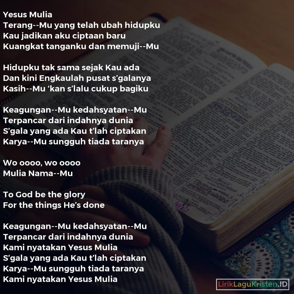 Yesus Mulia