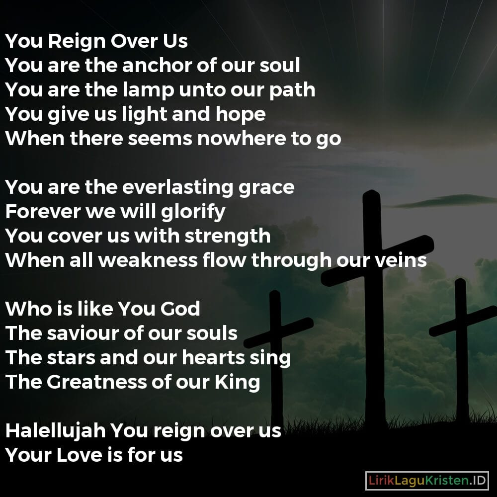 You Reign Over Us