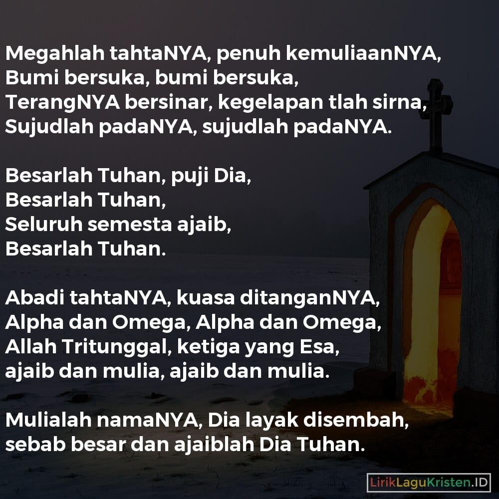 BESARLAH TUHAN