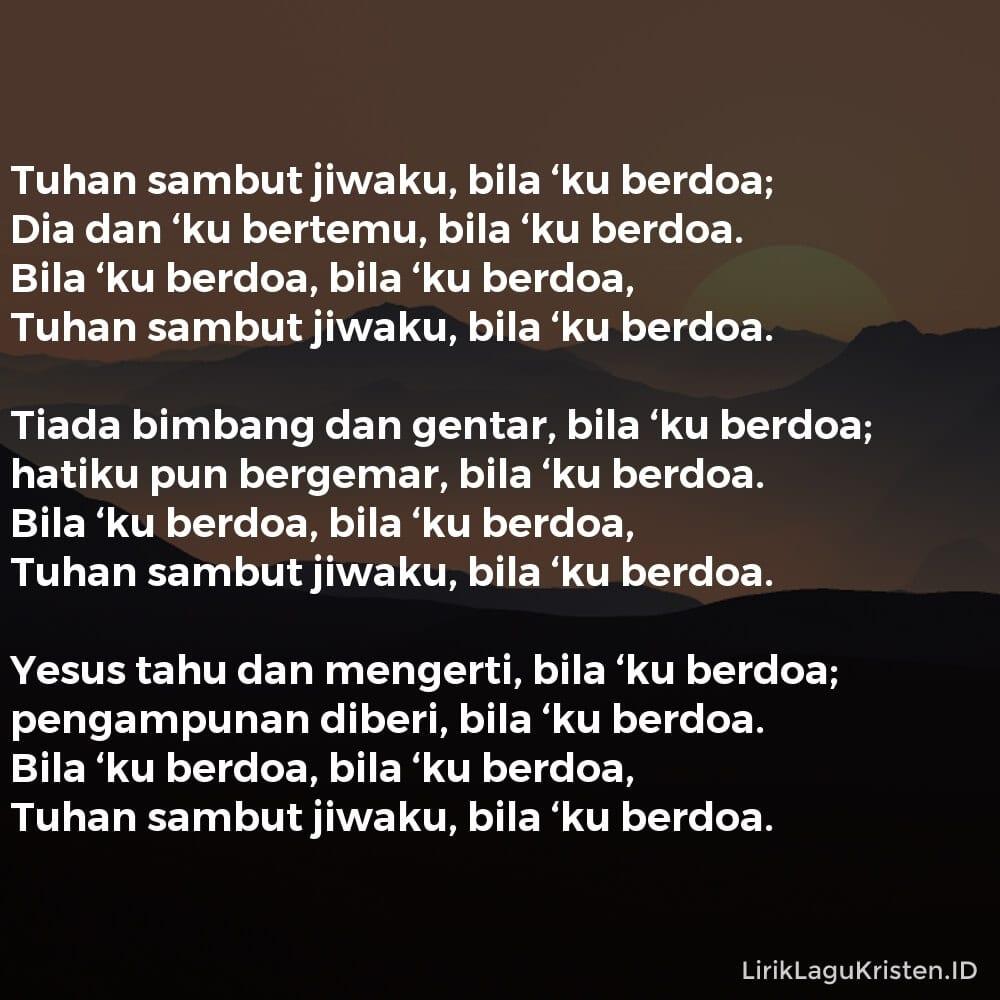 Bila 'Ku Berdoa