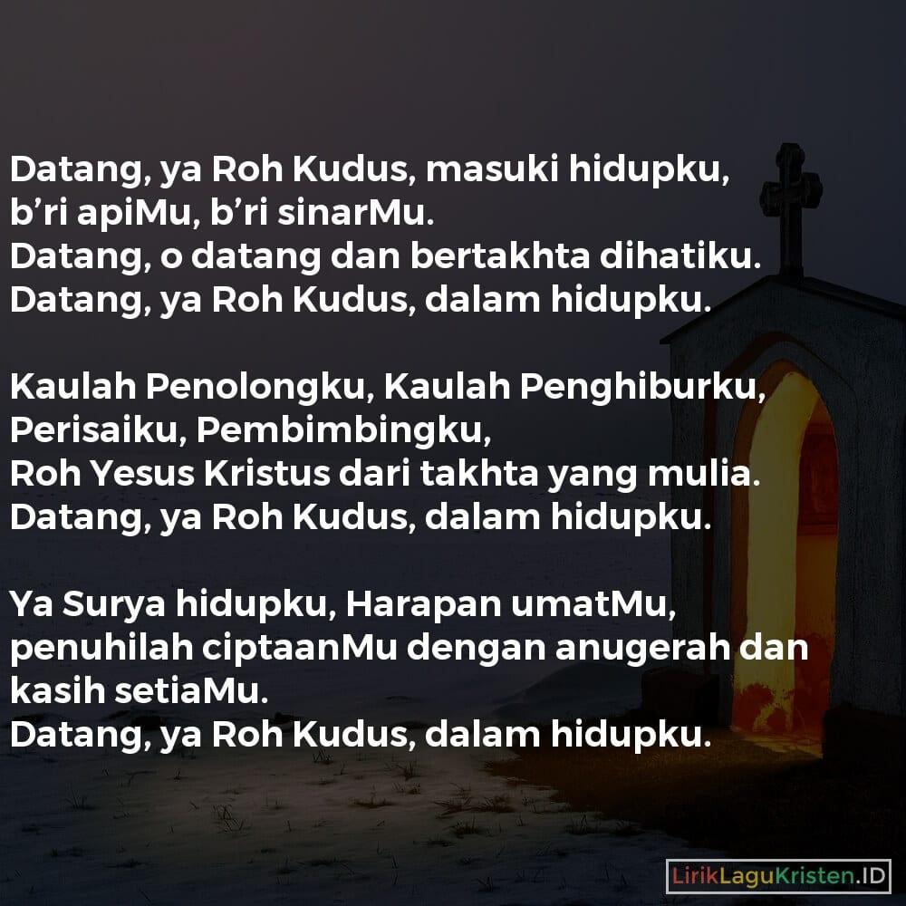 Datang, Ya Roh Kudus