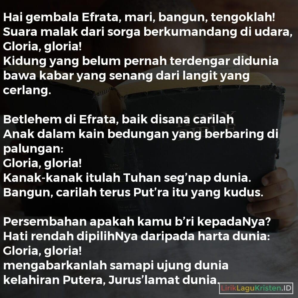 Hai Gembala Efrata