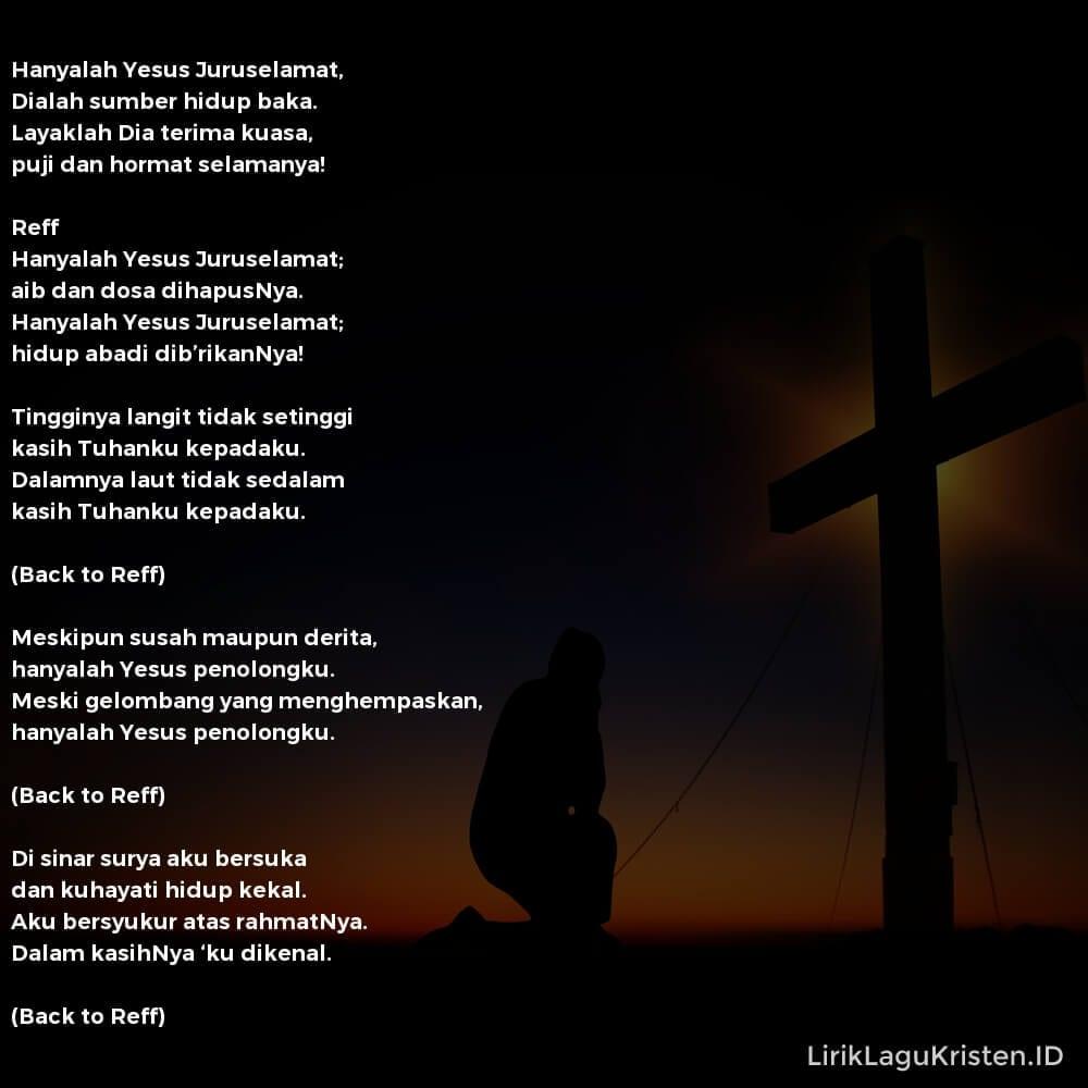Hanyalah Yesus Juruselamat