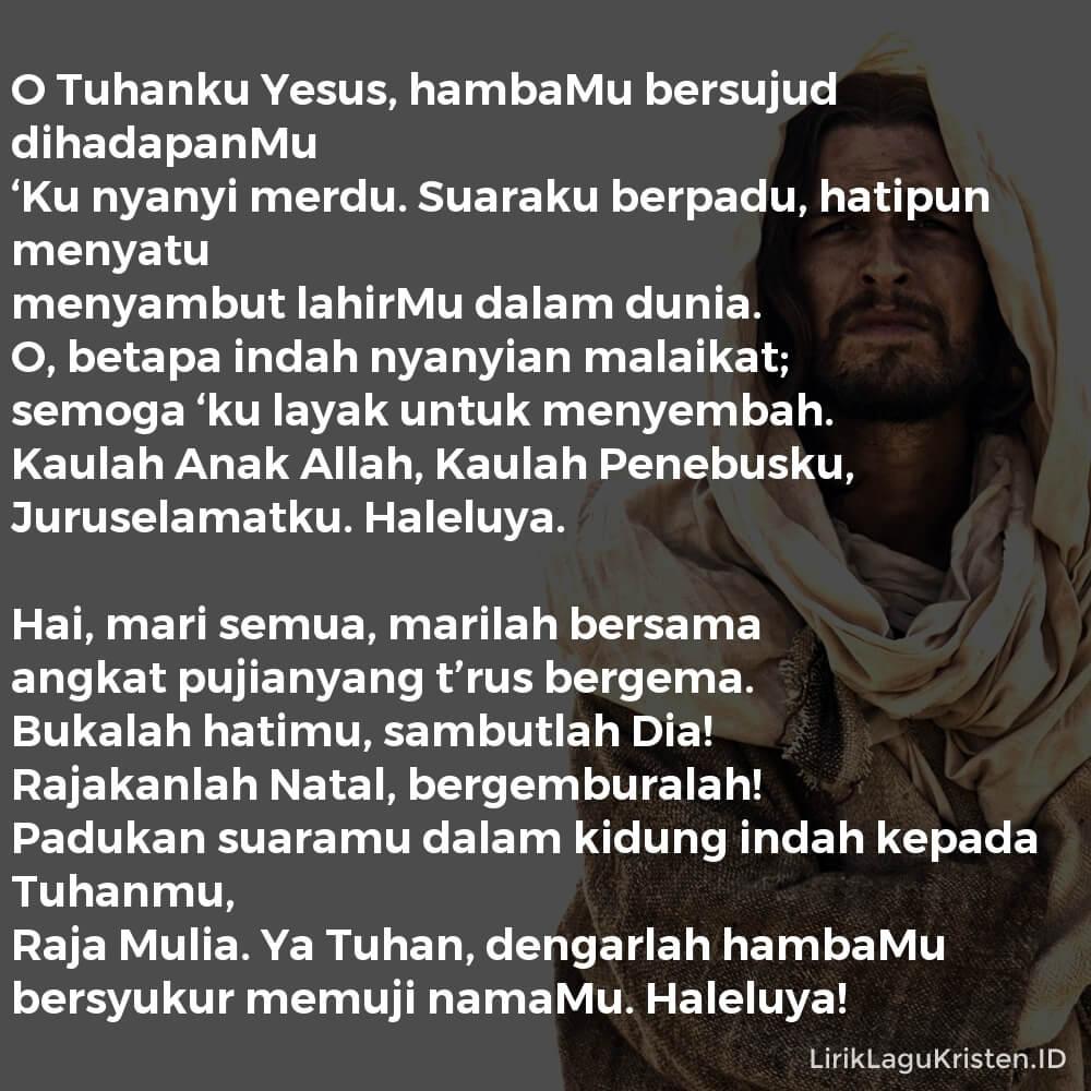 O Tuhanku Yesus