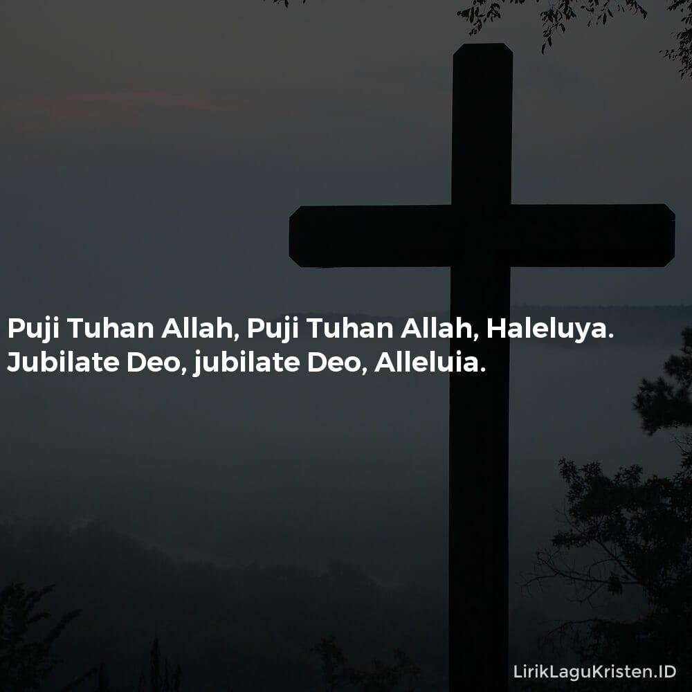 Puji Tuhan Allah