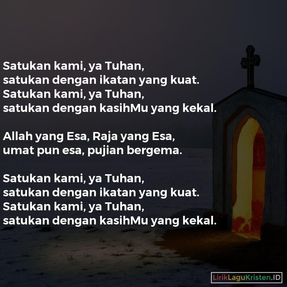 Satukan Kami, Ya Tuhan