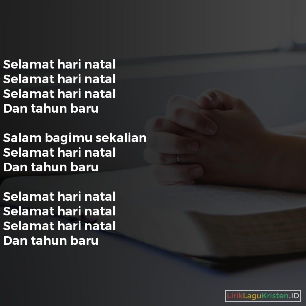 SELAMAT HARI NATAL DAN TAHUN BARU