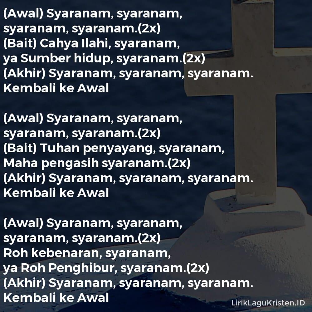 Syaranam