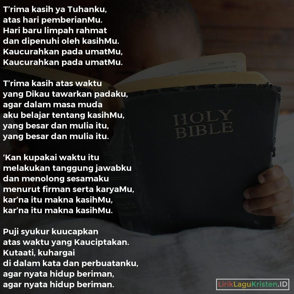 T'rima Kasih Ya Tuhanku