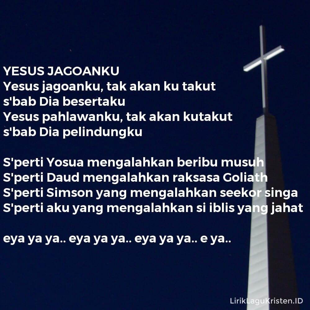YESUS JAGOANKU