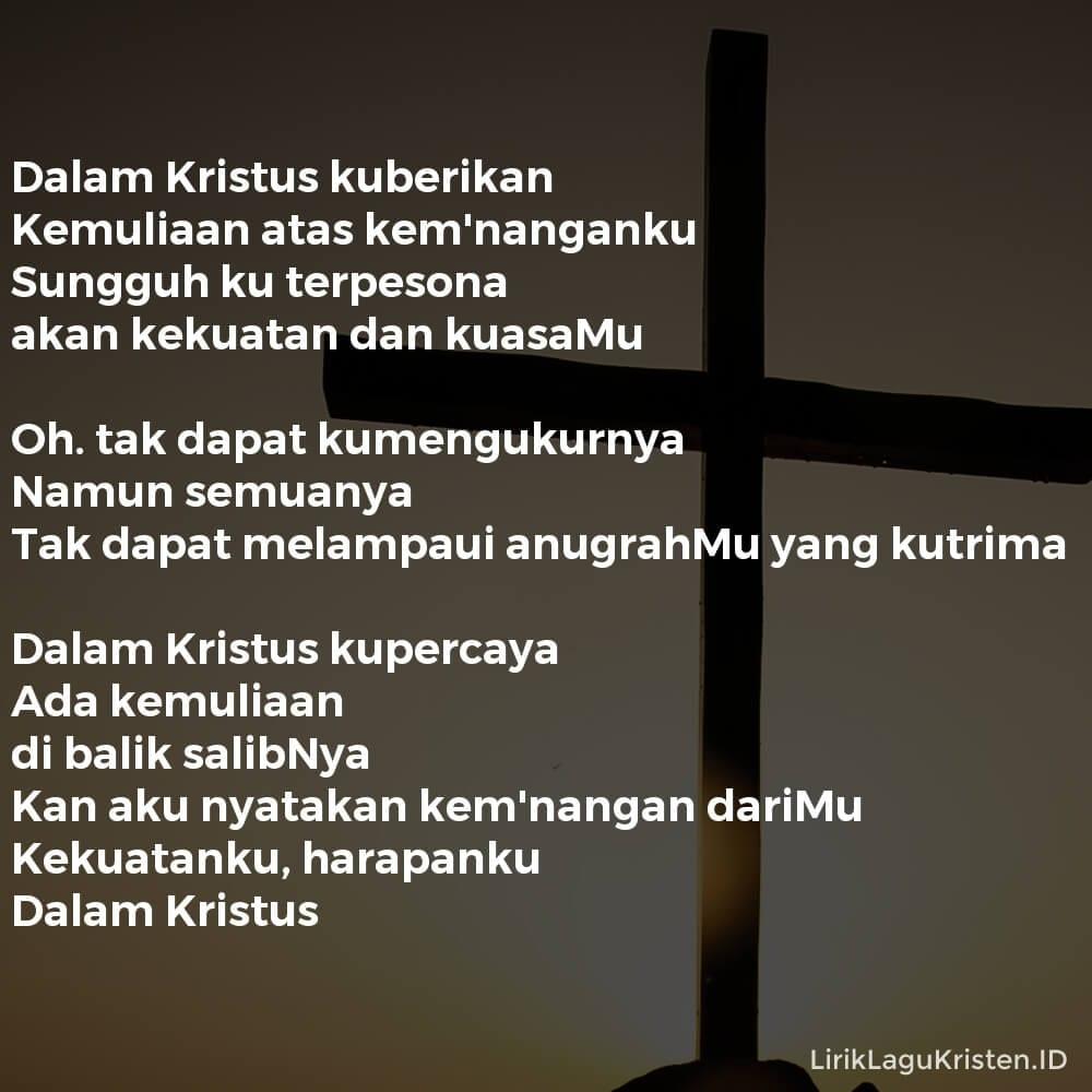 Dalam Kristus Kuberikan