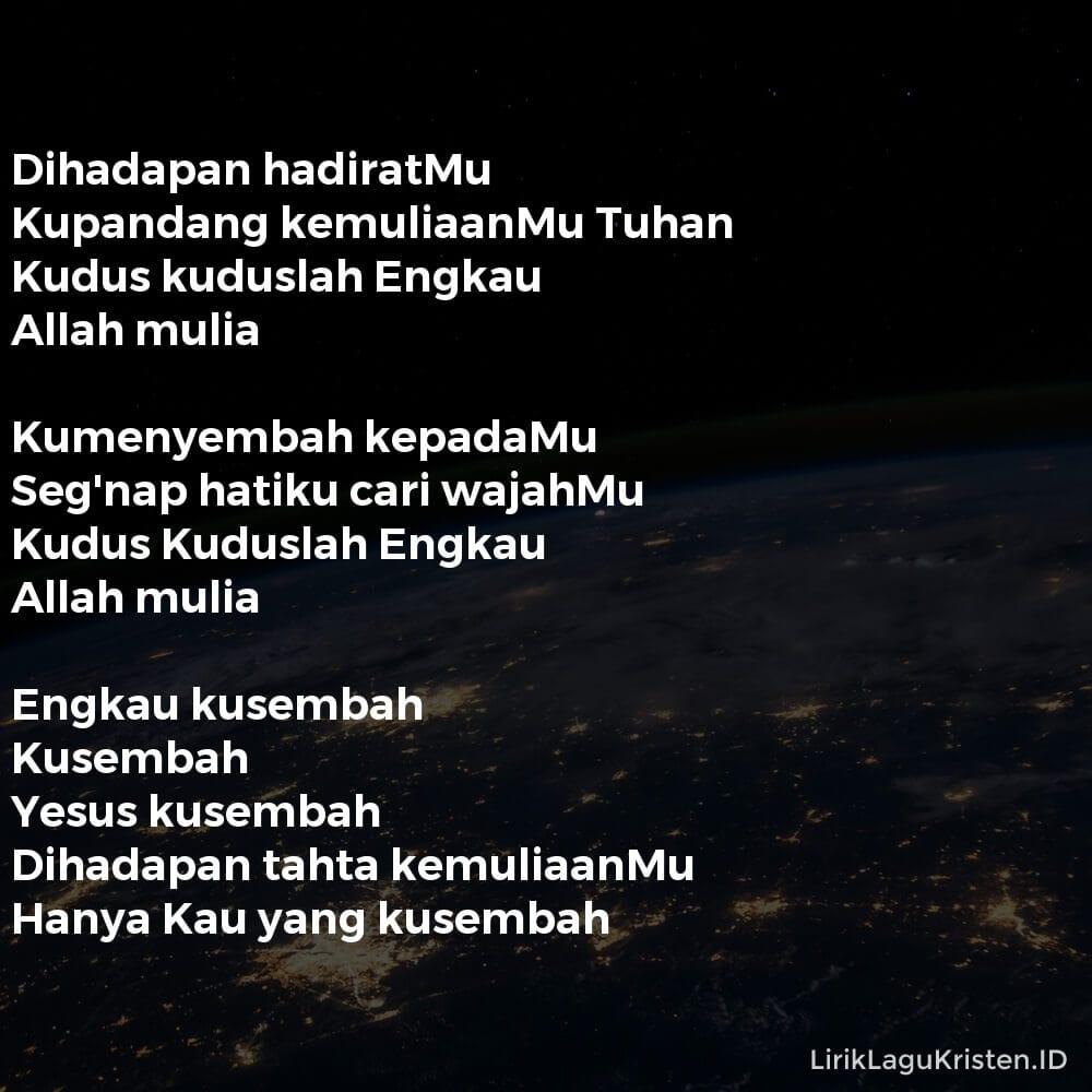 ENGKAU KUSEMBAH