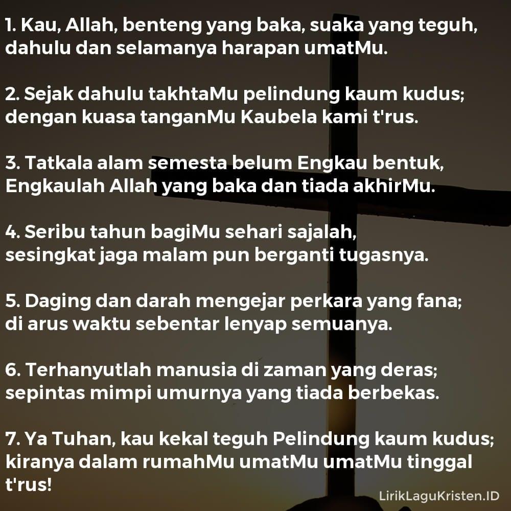 Kau Allah Benteng Yang Baka