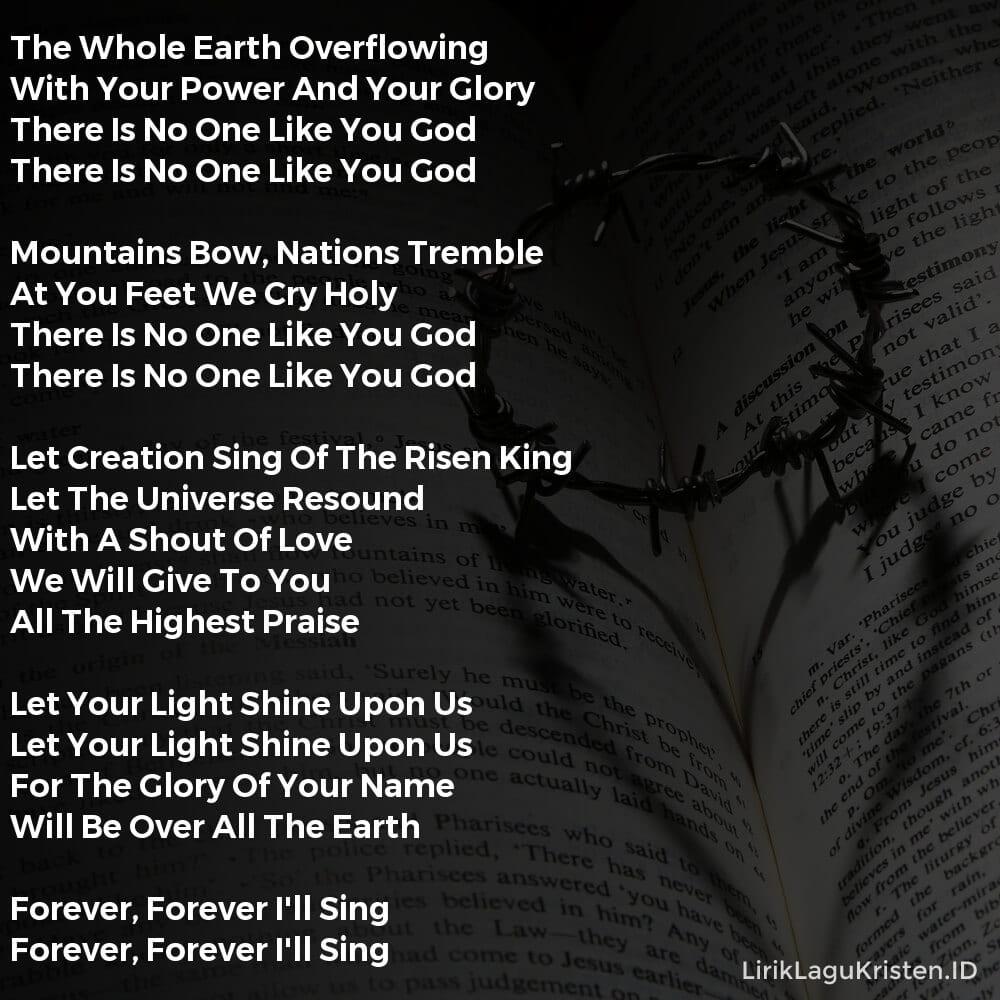 LET CREATION SING
