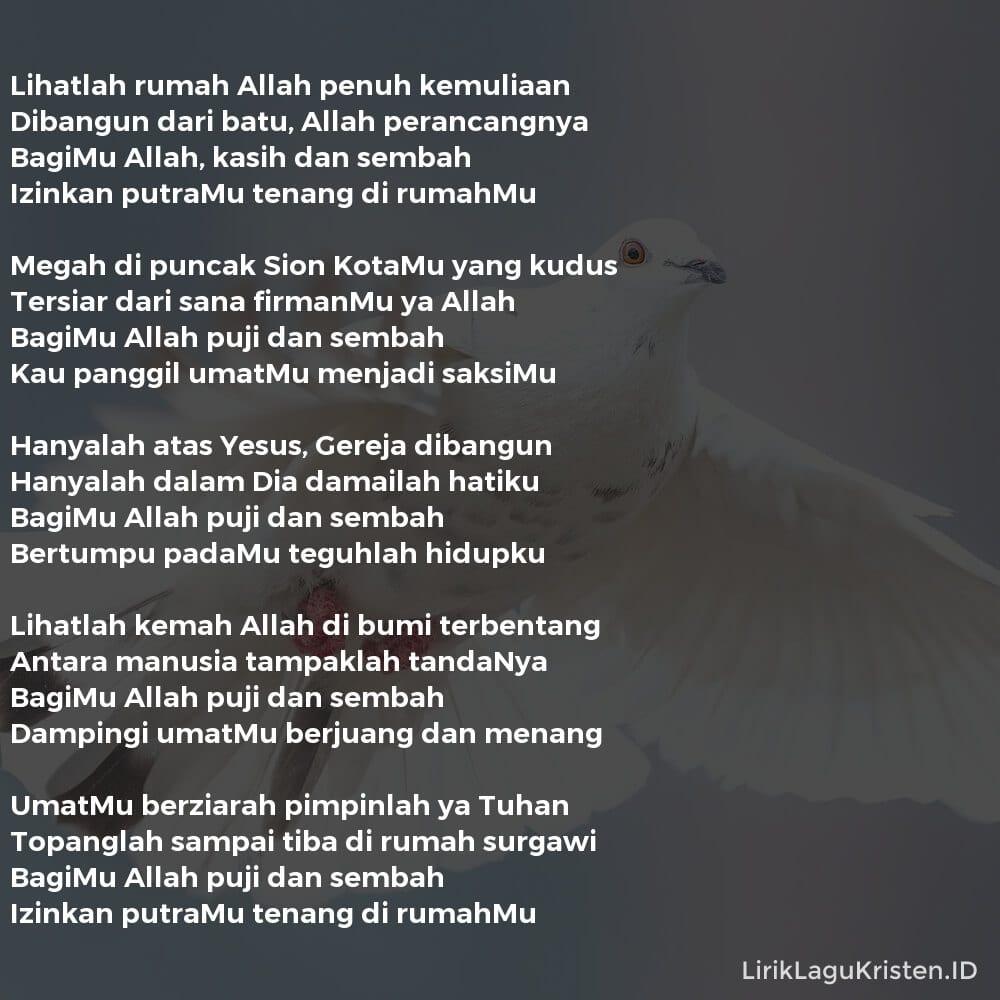 LIHATLAH RUMAH ALLAH