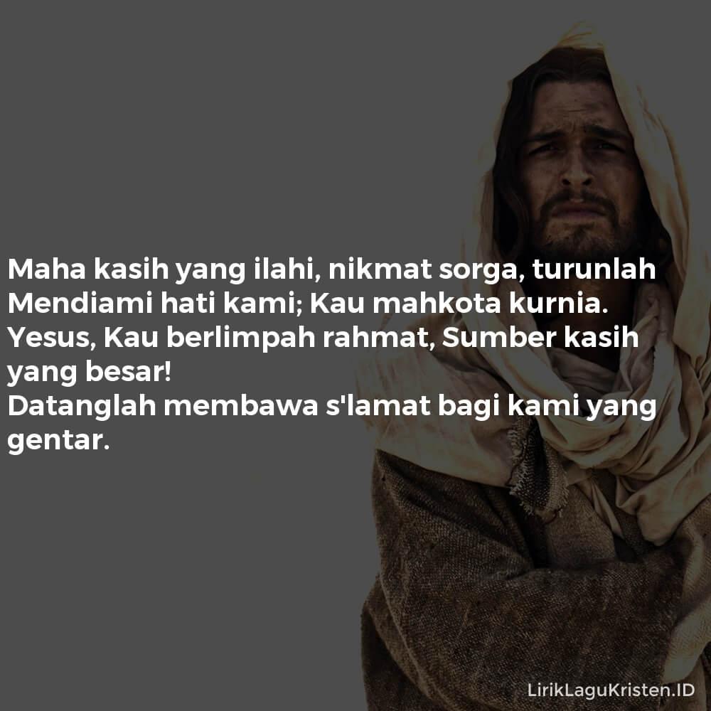 Mahakasih Yang Ilahi