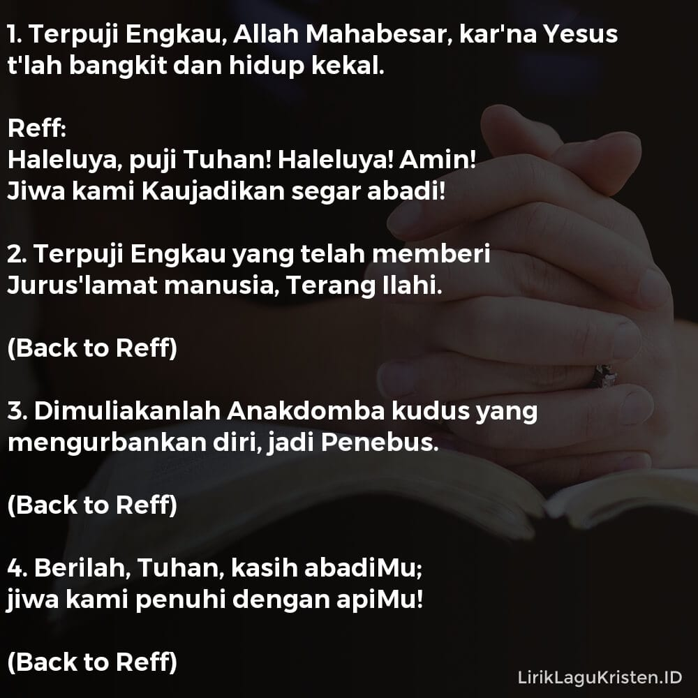 Terpuji Engkau, Allah Mahabesar