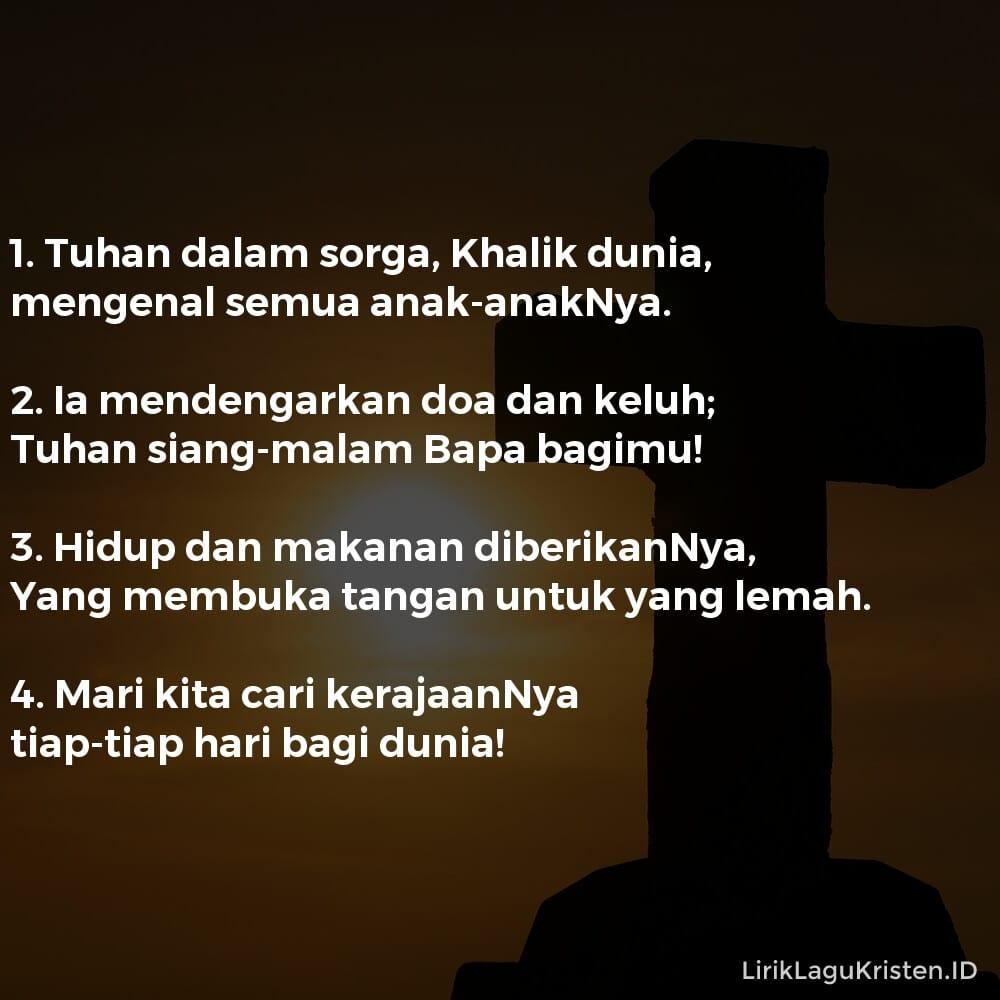 Tuhan Dalam Sorga