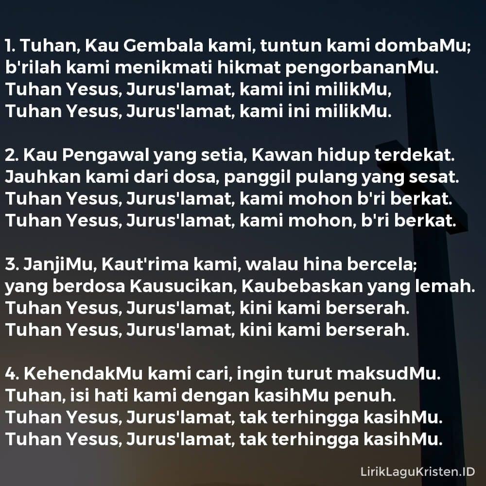 Tuhan, Kau Gembala Kami