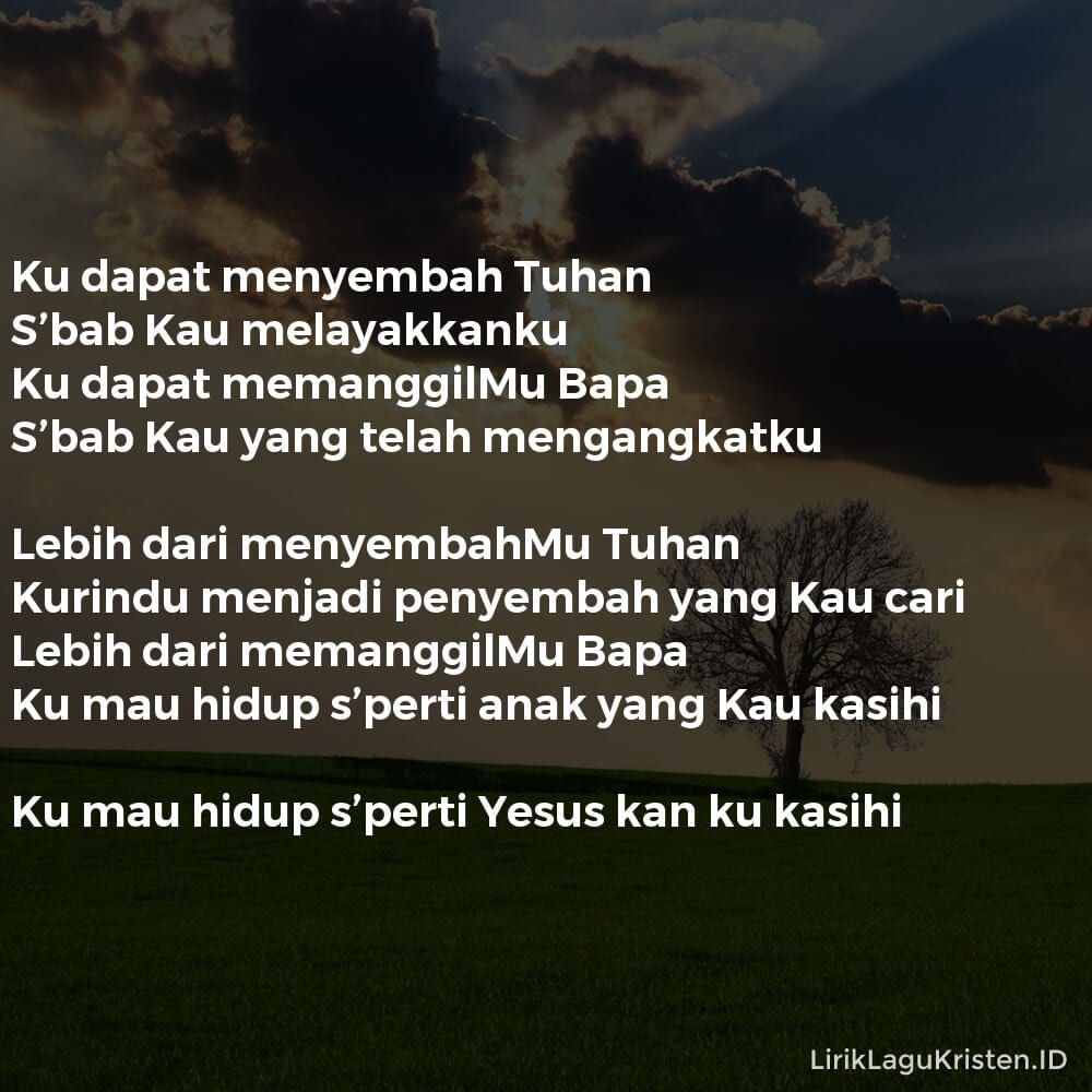 Lebih Dari Menyembah