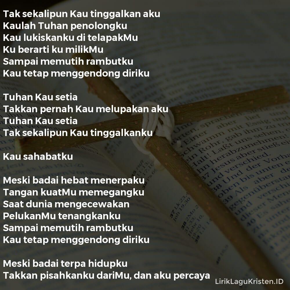 Tuhan Setia