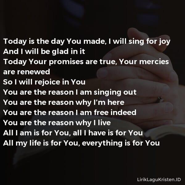 Rejoice in You