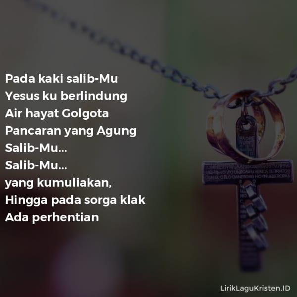 Pada Kaki Salib-Mu